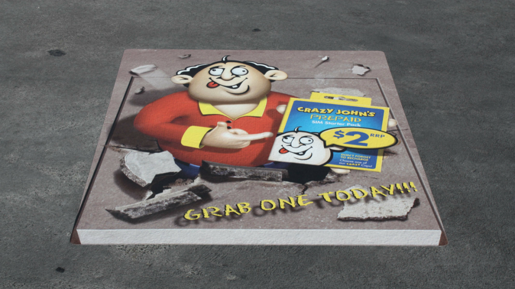 Floor Graphics Large Format Printing Near Me In